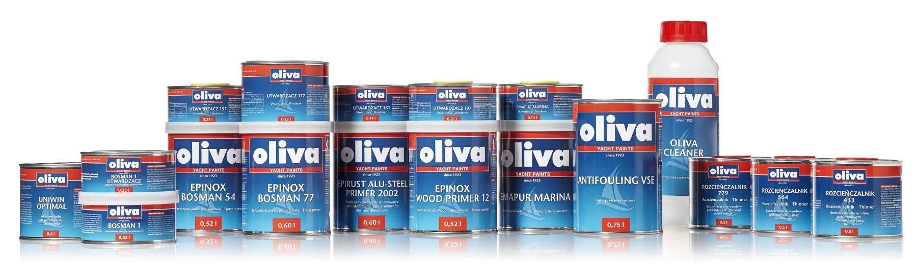 grupowe oliva bosman 1 farby jachtowe, malowanie łodzi, malowanie jachtów