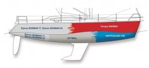 Jachty laminatowe, farby jachtowe, malowanie łódki, farby do jachtów plastikowych, malowanie laminatowej łodzi, farby do łodzi, farby oliva, malowanie jachtu laminatowego, farby epoksydowe, farby podkładowe,