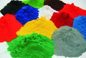 farby w proszku